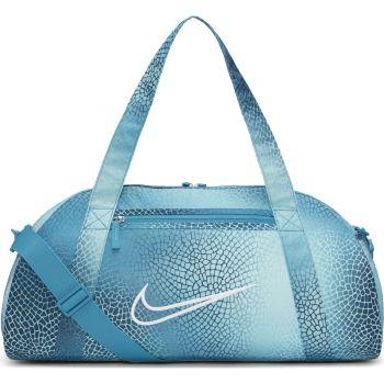 Nike W GYM CLUB BAG - AOP, torba, plava