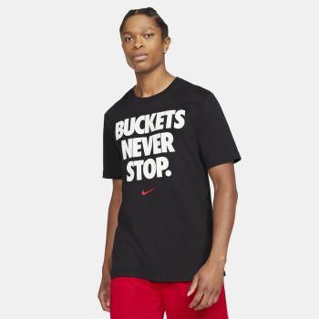 "Nike DRI-FIT ""BUCKETS"" BASKETBALL T-SHIRT, muška majica, crna"