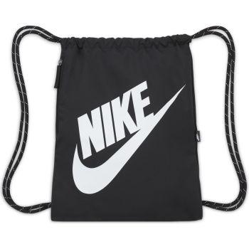 Nike HERITAGE DRAWSTRING, ranac, crna