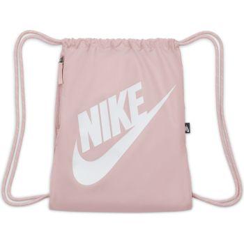 Nike HERITAGE DRAWSTRING, ranac, roza