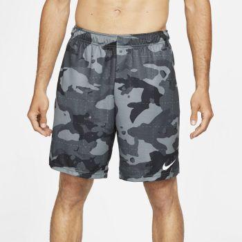Nike DRI-FIT CAMO TRAINING SHORTS, muški šorc za fitnes, crna