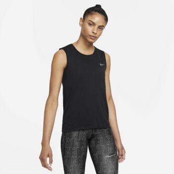Nike DRI-FIT RUN DIVISION RUNNING TANK, ženska majica za trčanje, crna