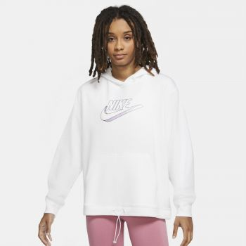 Nike SPORTSWEAR EASY FLEECE HOODIE, ženski duks, bijela