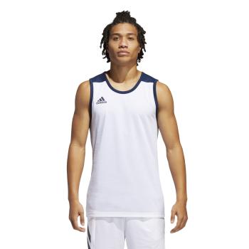 adidas 3G SPEE REV JRS, muški dres za košarku, bijela