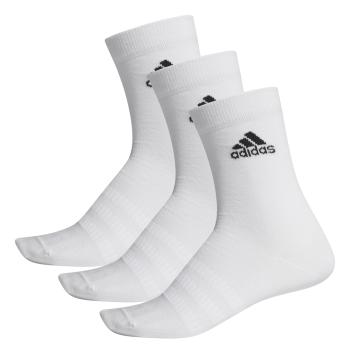 adidas LIGHT CREW 3PP, čarape za fitnes, bijela