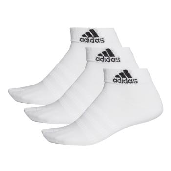 adidas LIGHT ANK 3PP, čarape za fitnes, bijela
