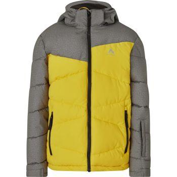 McKinley EGON JRS, dječija jakna za skijanje, žuta