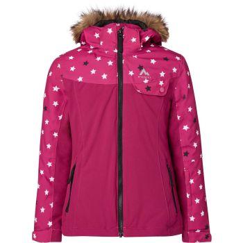 McKinley ELISABETH GLS, dječija jakna za skijanje, roza