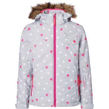 McKinley ELISABETH GLS, dječija jakna za skijanje, siva