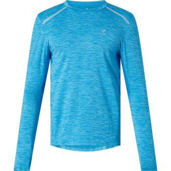 Energetics AIMO II UX, muška majica dugi rukav za trčanje, plava