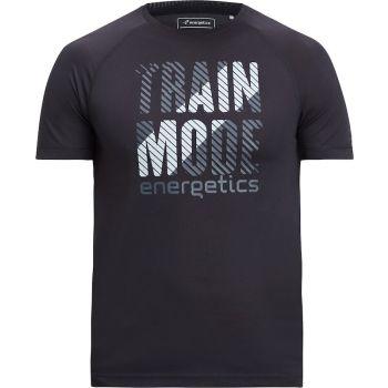 Energetics MASSIMO V UX, muška majica za fitnes, crna