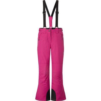 McKinley EVA GLS, dječije pantalone za skijanje, roza