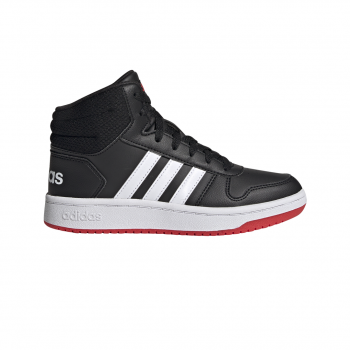 adidas HOOPS MID 2.0 K, dječije patike za slobodno vrijeme, crna