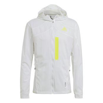 adidas MARATHON JKT M, muška jakna za trčanje, bijela