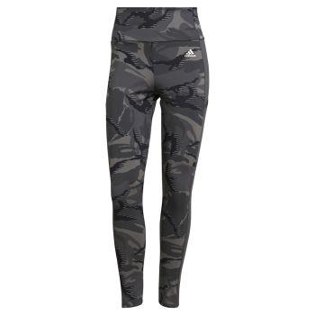 adidas W CAMO 78 TIG, ženske 7/8 helanke za fitnes, siva