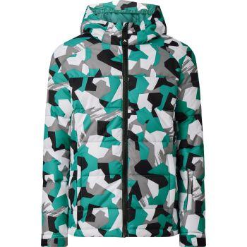 McKinley GLENNI GLS, dječija jakna za snowboard, zelena
