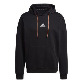 adidas M SPC HOOD, muški duks za fitnes, crna