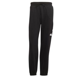 adidas M FI PANT 3B, muški donji dio trenerke, crna