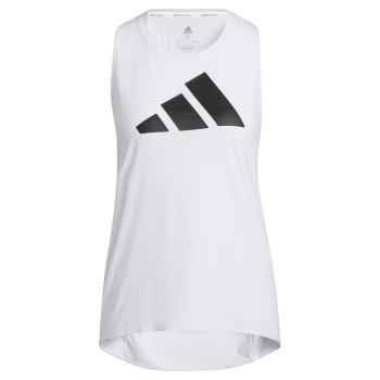 adidas 3BAR LOGO TANK, ženska majica za fitnes, bijela