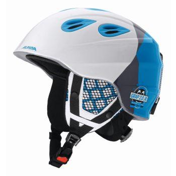 Alpina GRAP 2.0 JUNIOR, dječija skijaška kaciga, bijela