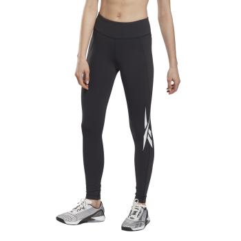 Reebok TS LUX TIGHT - GR, ženske helanke za fitnes, crna