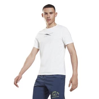 Reebok WOR AC SS TEE, muška majica za fitnes, bijela