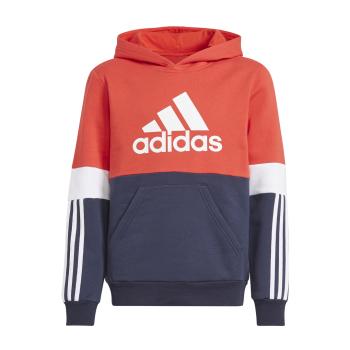 adidas B CB FL HD, dječiji duks, crvena