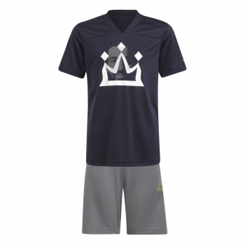 adidas B SALAH SET, dječija trenerka, plava