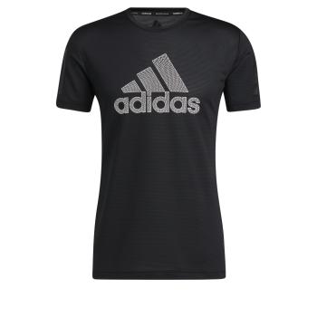 adidas AERO WARRI TEE, muška majica za fitnes, crna