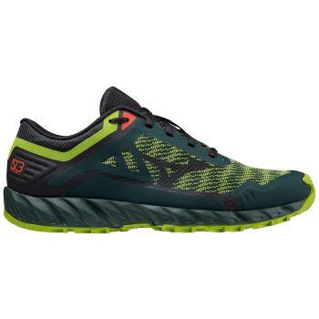 Mizuno WAVE IBUKI 3, muške patike za trail trčanje, zelena