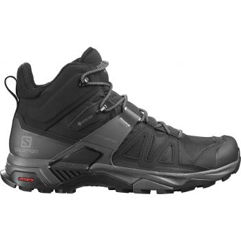 Salomon X ULTRA 4 MID GTX, muške planinarske cipele, crna