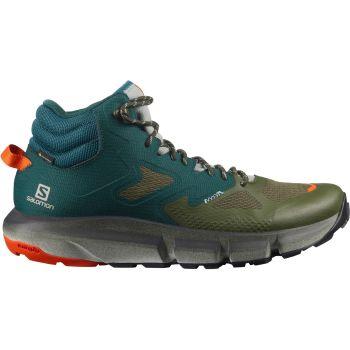 Salomon PREDICT HIKE MID GTX, muške planinarske cipele, zelena