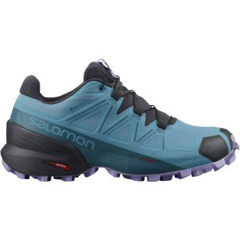 Salomon SPEEDCROSS 5 GTX W, ženske patike za trail trčanje, plava