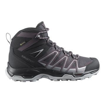 Salomon ROBSON MID GTX W, ženske planinarske cipele, srebrna