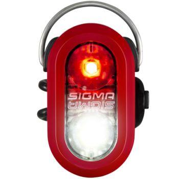 Sigma MICRO DUO SAFETY LIGHT, svijetlo za bicikl, crvena