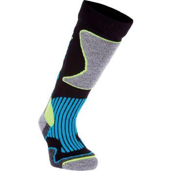 McKinley NEW NILS JRS, dječije čarape za skijanje, crna