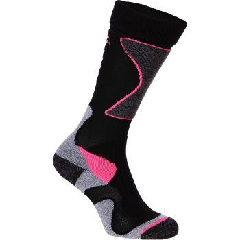 McKinley NEW NILS, ženske čarape za skijanje, crna
