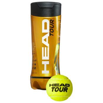 Head 3B HEAD TOUR, lopta za tenis, žuta