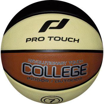 Pro Touch COLLEGE, lopta za košarku, crna