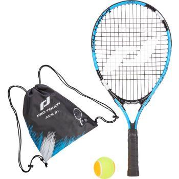 Pro Touch ACE 21 W/BAG, dječiji reket za tenis, crna