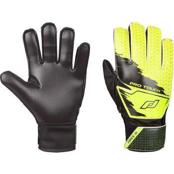 Pro Touch FORCE 30 BG, dječije golmanske rukavice za fudbal, crna