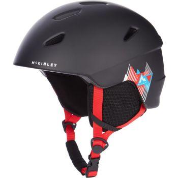 McKinley PULSE JR HS-016, dječija skijaška kaciga, crna