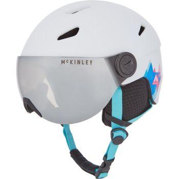McKinley PULSE JR S2 VISOR HS-016, dječija skijaška kaciga, bijela