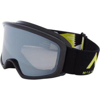 McKinley PULSE S PLUS, dječije skijaške naočare, crna