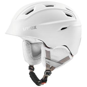 Uvex FIERCE, kaciga skijaška, bijela