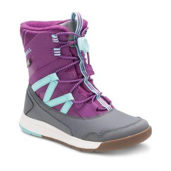 Merrell M-SNOW CRUSH WTRPF, dječije cipele, ljubičasta