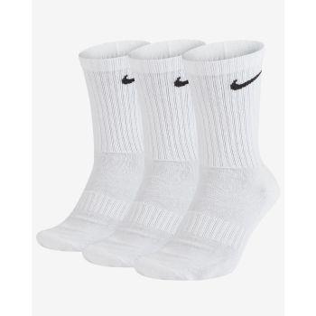 Nike U NK EVERYDAY CUSH CREW 3PR, čarape za fitnes, bijela