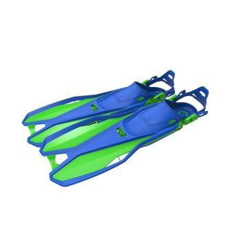 Tecnopro F6 C TRAVEL KIDS, dječije peraje, plava
