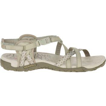 Merrell TERRAN LATTICE II, ženske sandale, siva