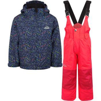 McKinley TIMBER II KDS + RAY, dječiji komplet za skijanje, plava